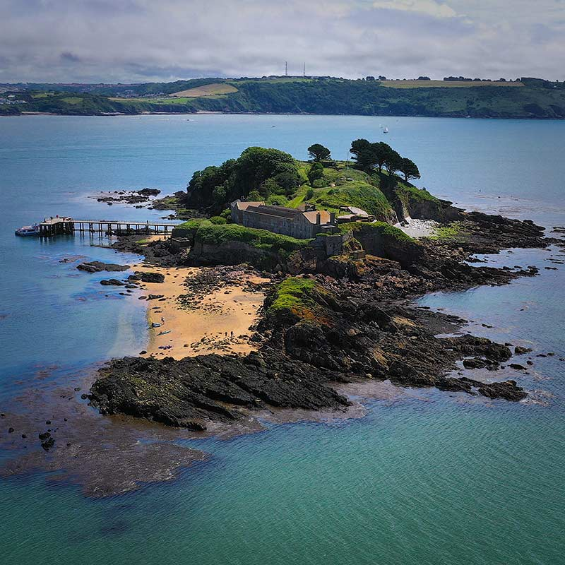 Drake's Island South West Tours